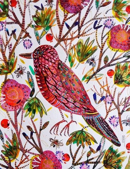 celine-marcoz-pink-bird