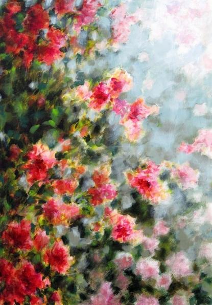 fabienne-monestier-red-flowers-in-the-mist