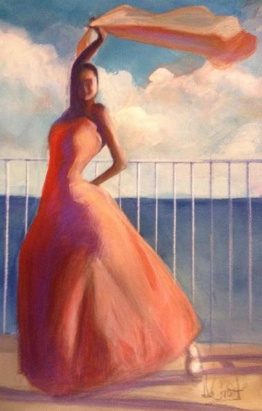 gregg-degroat-flamenco-dancer-waving-scarf