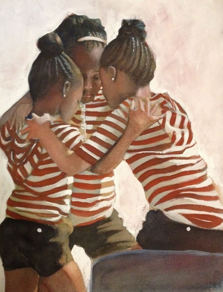 gregg-degroat-three-girls-praying
