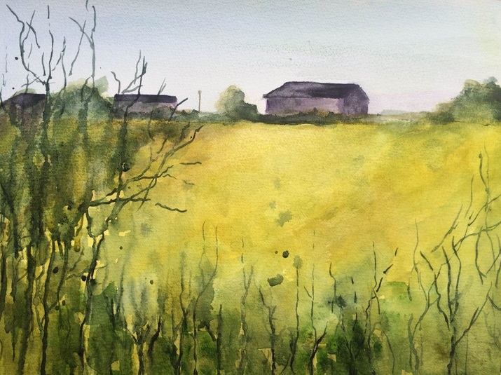 marta-dyer-smith-suffolk-barn-on-rape-field