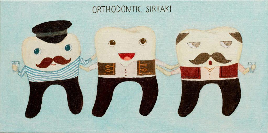 orthodontic-sirtaki-artwork-painting-art-ustymenko-teeth