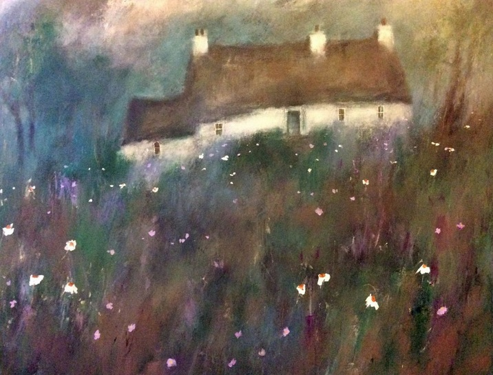roma-mountjoy-lavender-cottage-large-painting-on-canvas