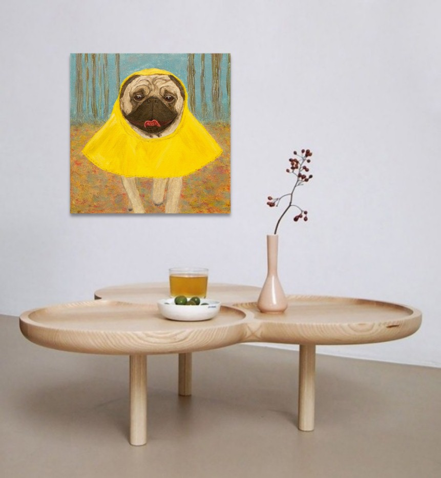 wet-but-happy-pug-portrait-interior-art-artwork-ustymenko