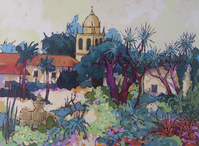Angus Wilson - San Carlos Borromeo Mission garden