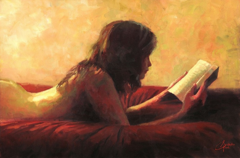 christopher-clark-reading-in-bed