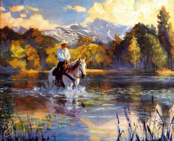 christopher-clark-wading-upsream