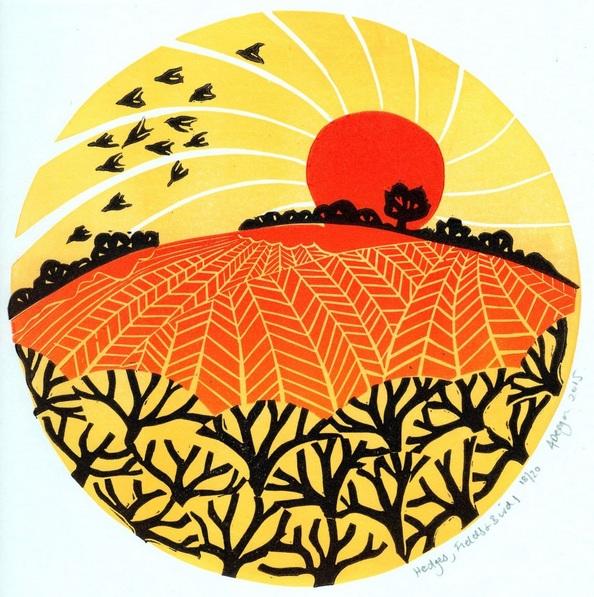 Alison Deegan - Hedges, Fields and Birds