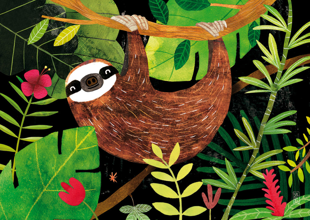 Carmen Saldana - Sloth!