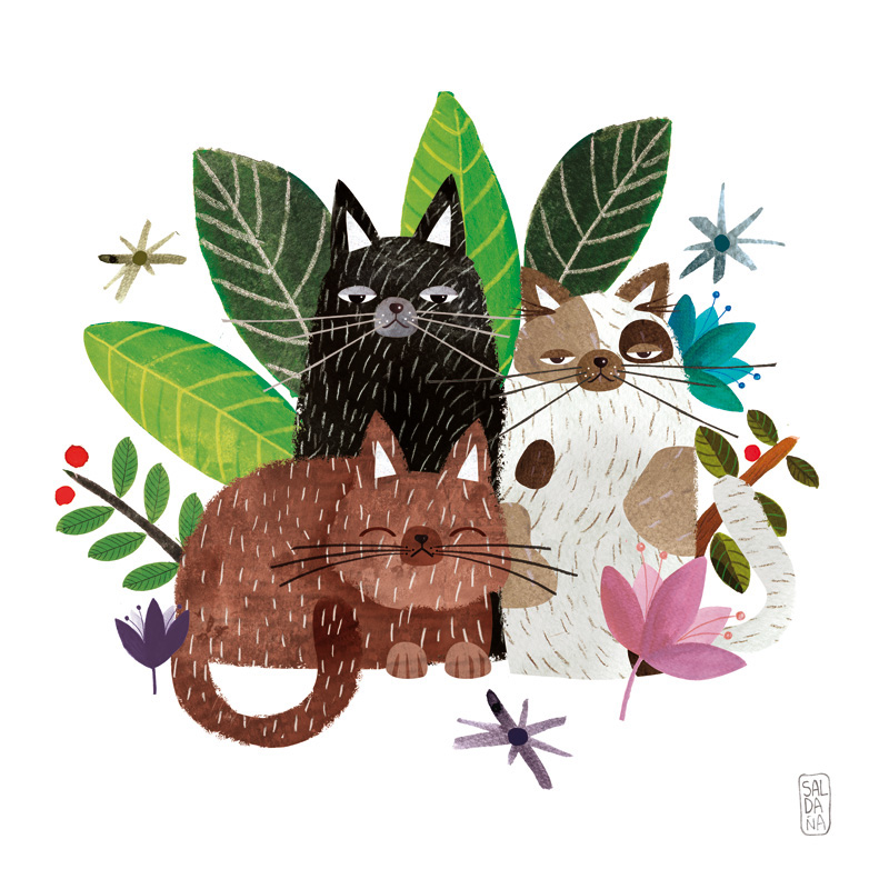 Carmen Saldana - The Cats