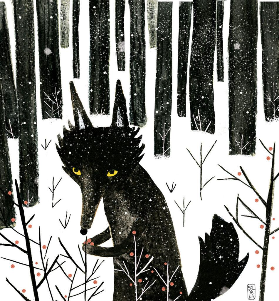Carmen Saldana - Winter Wolf