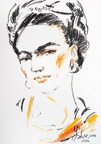 Daria Yablon-Soloviova - Frida #3