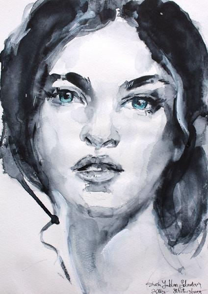 Daria Yablon-Soloviova - Green eyes