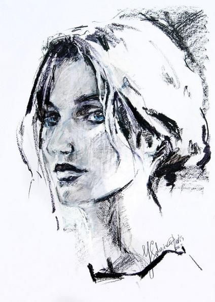 Daria Yablon-Soloviova - Unknown girl#1