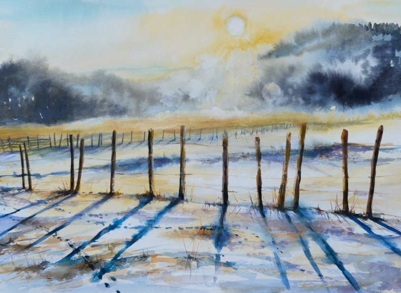 Eve Mazur - Winter landscape