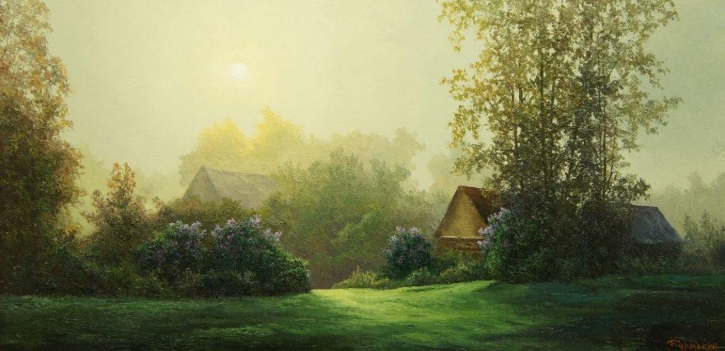Evgeny Burmakin - Lilac morning