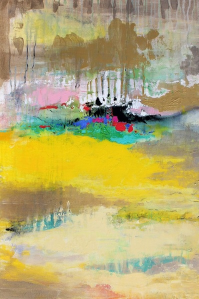 Martina Boycheva - Yellow abstract