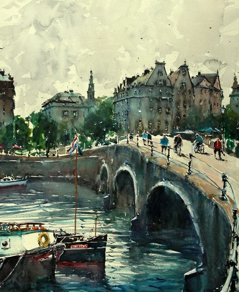 Maximilian Damico - Amsterdam Canals II