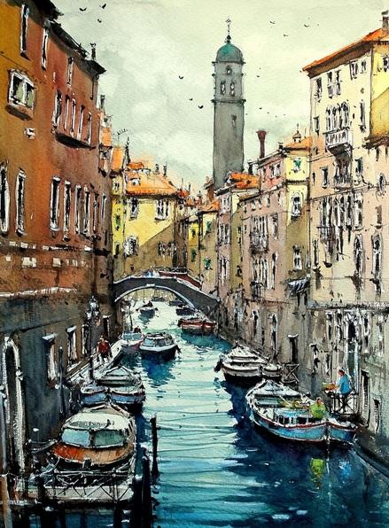 Maximilian Damico - Venice Canals