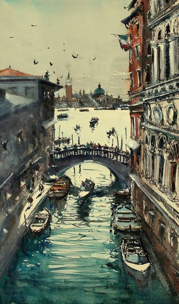 Maximilian Damico - Venice Under the Bridge II