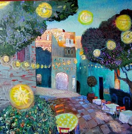 Paul Jorgensen - Night square