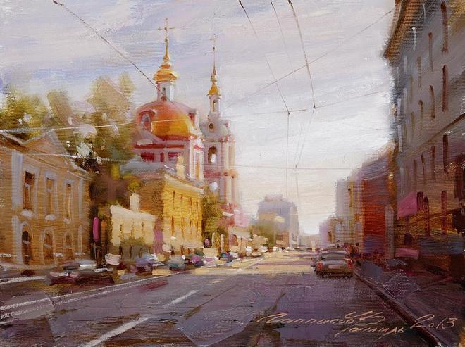 Ramil Gappasov - Moscow. Staraya Basmannaya Street