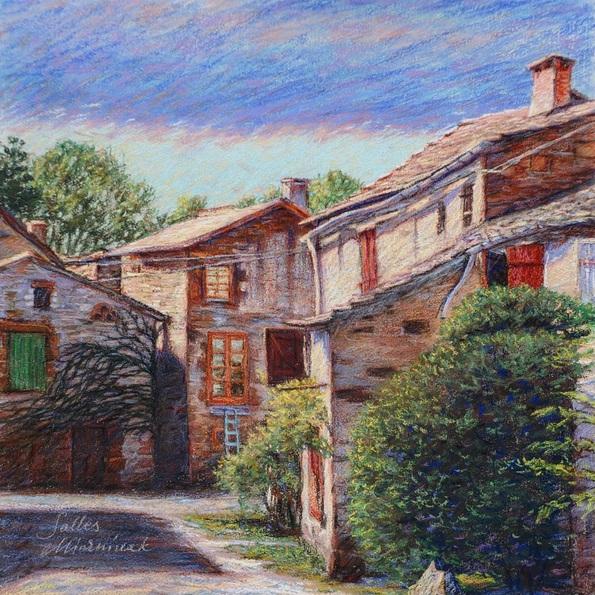 Richard Mierniczak - Urban landscape - Salles