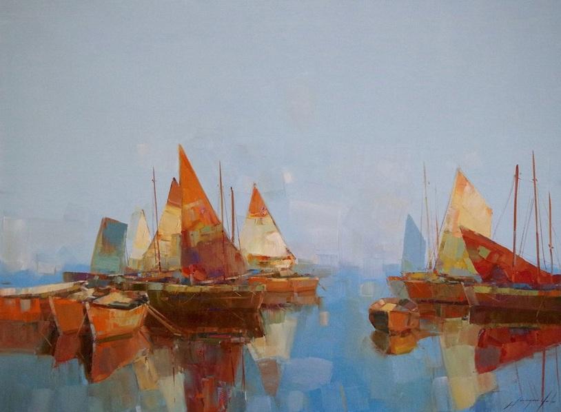 Vahe Yeremyan - Sail Boats