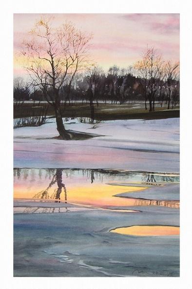 Valeriy Grachov - Spring sunset