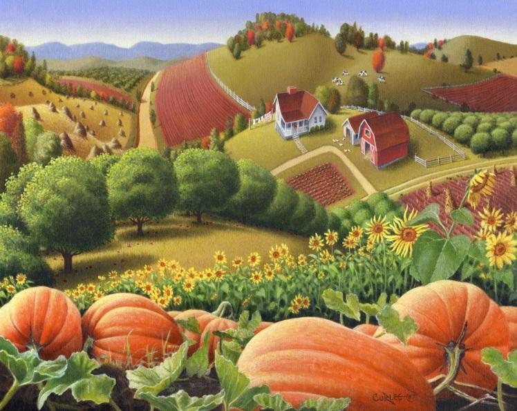 Walt Curlee - Appalachian Pumpkin Patch