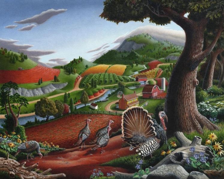 Walt Curlee - Turkeys In The Hills