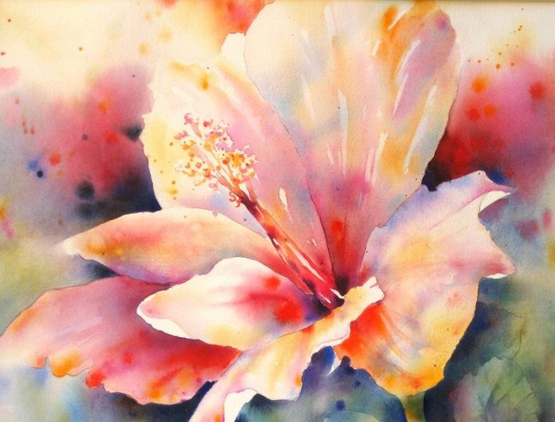 Yvonne Joyner - Uninhibited Hibiscus