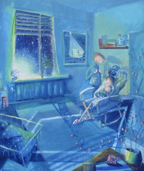 ALEXANDRA KRASUSKA - Blue hours