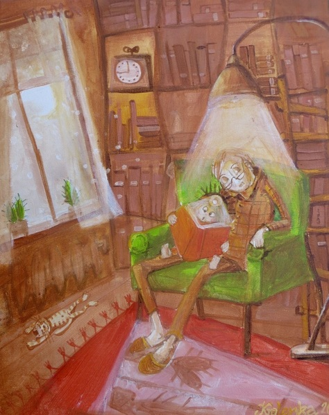 ALEXANDRA KRASUSKA - Just a story, 2