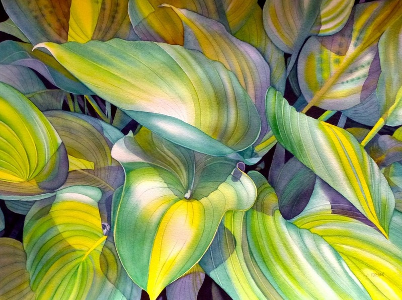 Cheryl Feragen - Leaves Of Green II