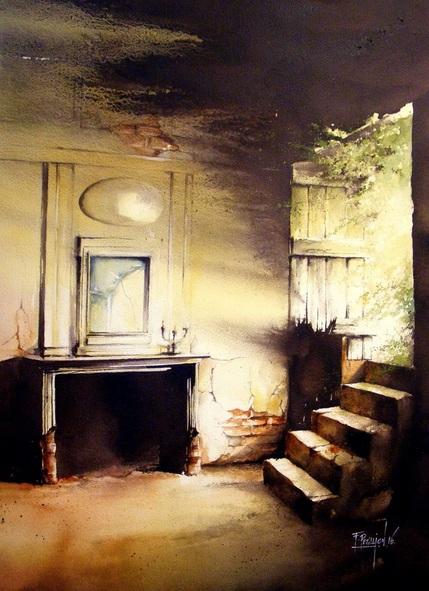 Fabien Petillion - Abandoned light I
