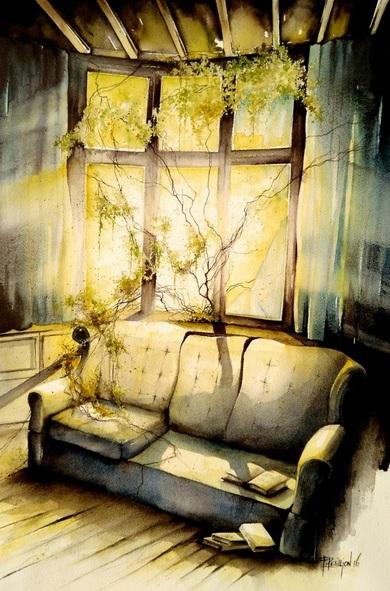 Fabien Petillion - Abandoned light II