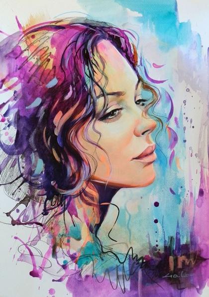 Galya Bukova - Ash of purple joy