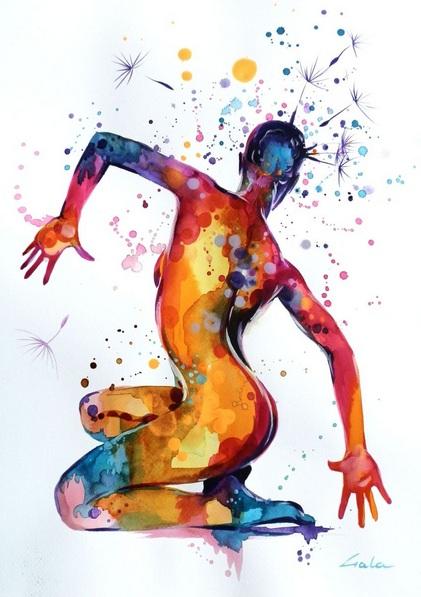 Galya Bukova - Dancing dandelion