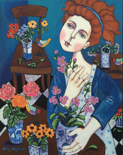 Holly Wojahn - Daydreaming Fleuriste Private Commission for Debra D.