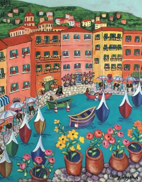 Holly Wojahn - La Vie En Riviera Rose