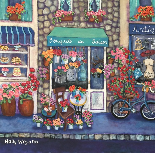 Holly Wojahn - Private Commission for Marcie ; after Bouquets du Saison
