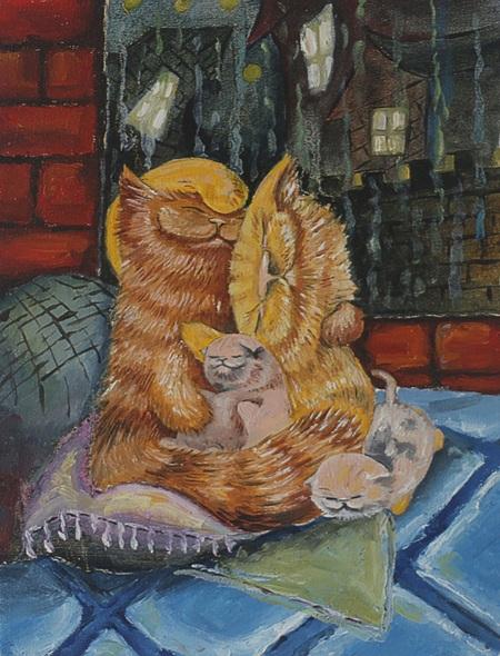Iaroslav Hmelnitki - Cats family