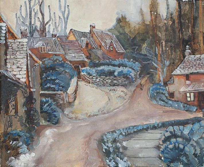 Iaroslav Hmelnitki - Winter street