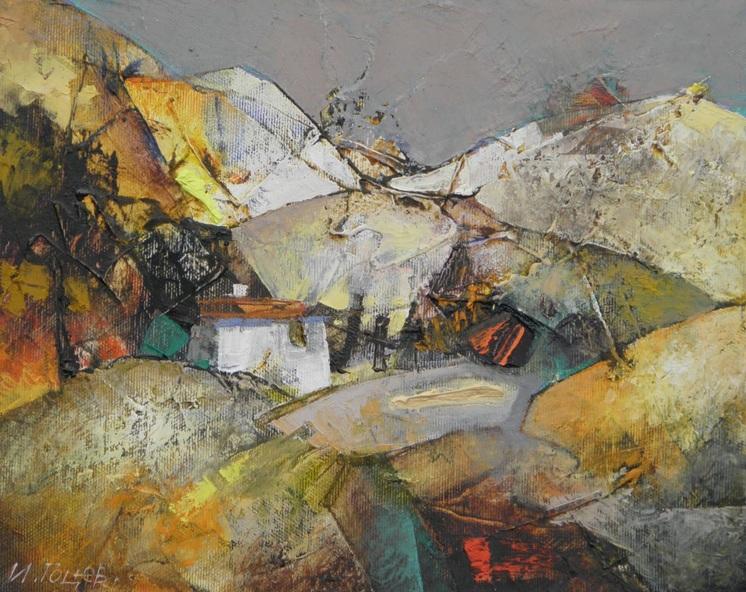 Ivan Gotsev - Hut in the Mountain
