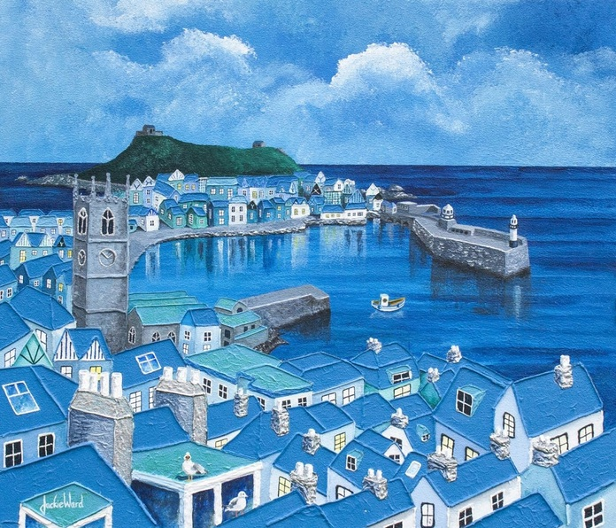 Jackie Ward - Cornish Blue