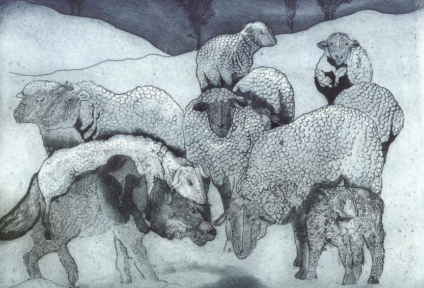 Jane Daniell - Feeling Sheepish