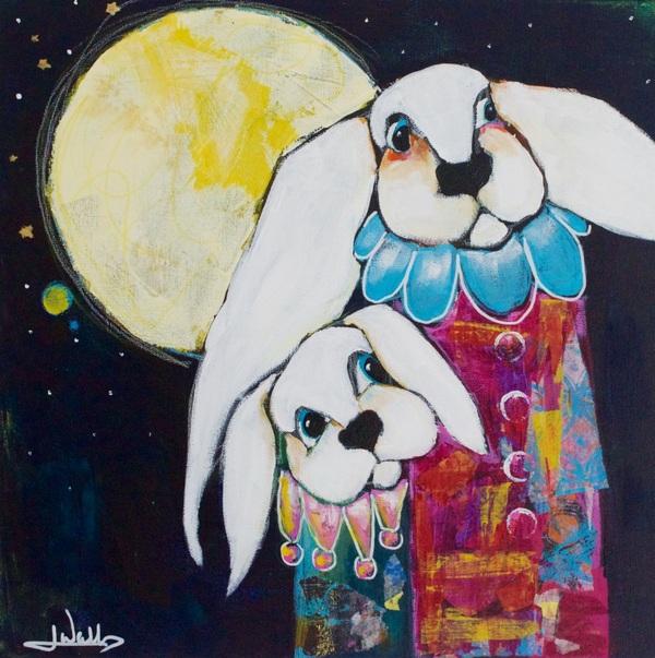 Jen Walls - Moon Rabbits