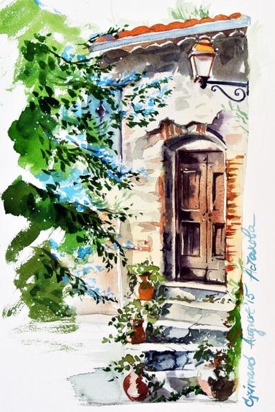 Ksenia Astakhova - A Door in Grimaud