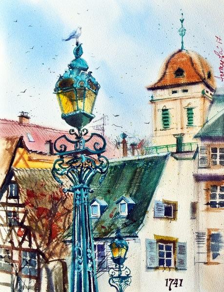 Ksenia Astakhova - A Lantern from Strasbourg
